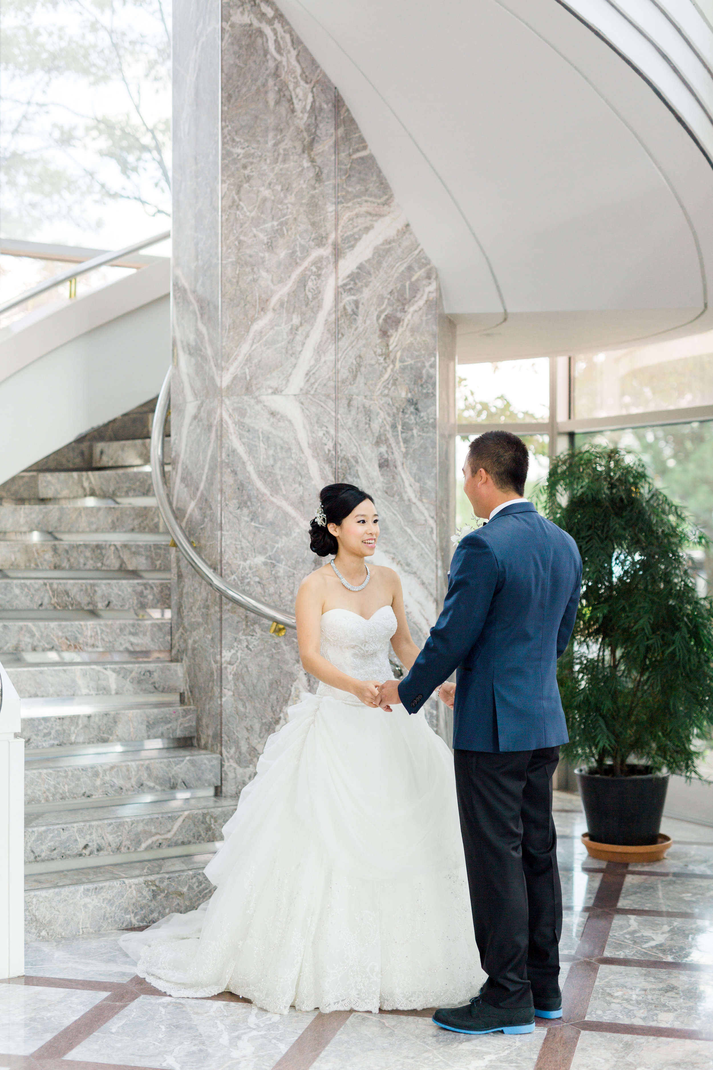 Toronto Fine Art Photographer - Hilton Markham Wedding - First Look-12.jpg