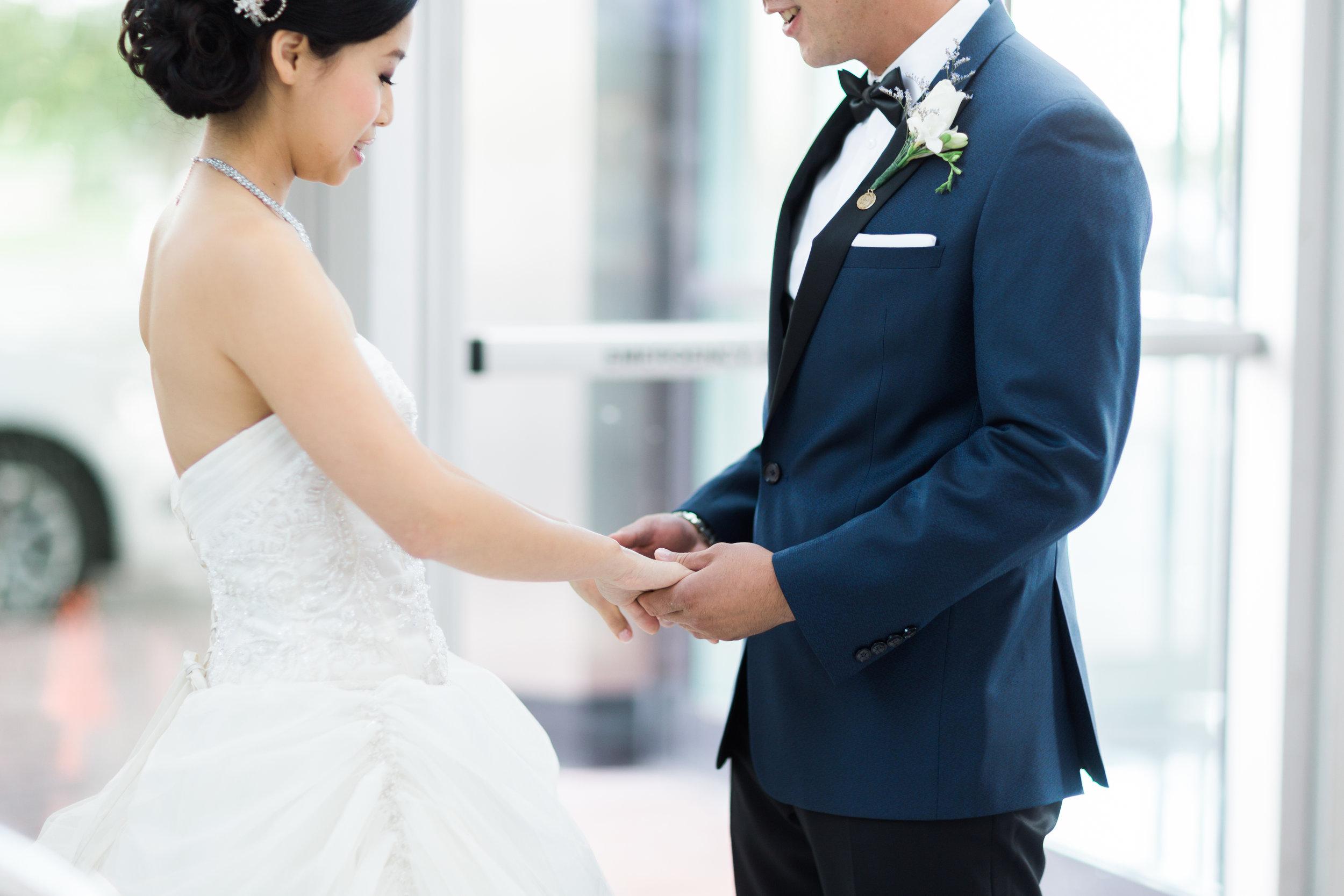 Toronto Fine Art Photographer - Hilton Markham Wedding - First Look-15.jpg