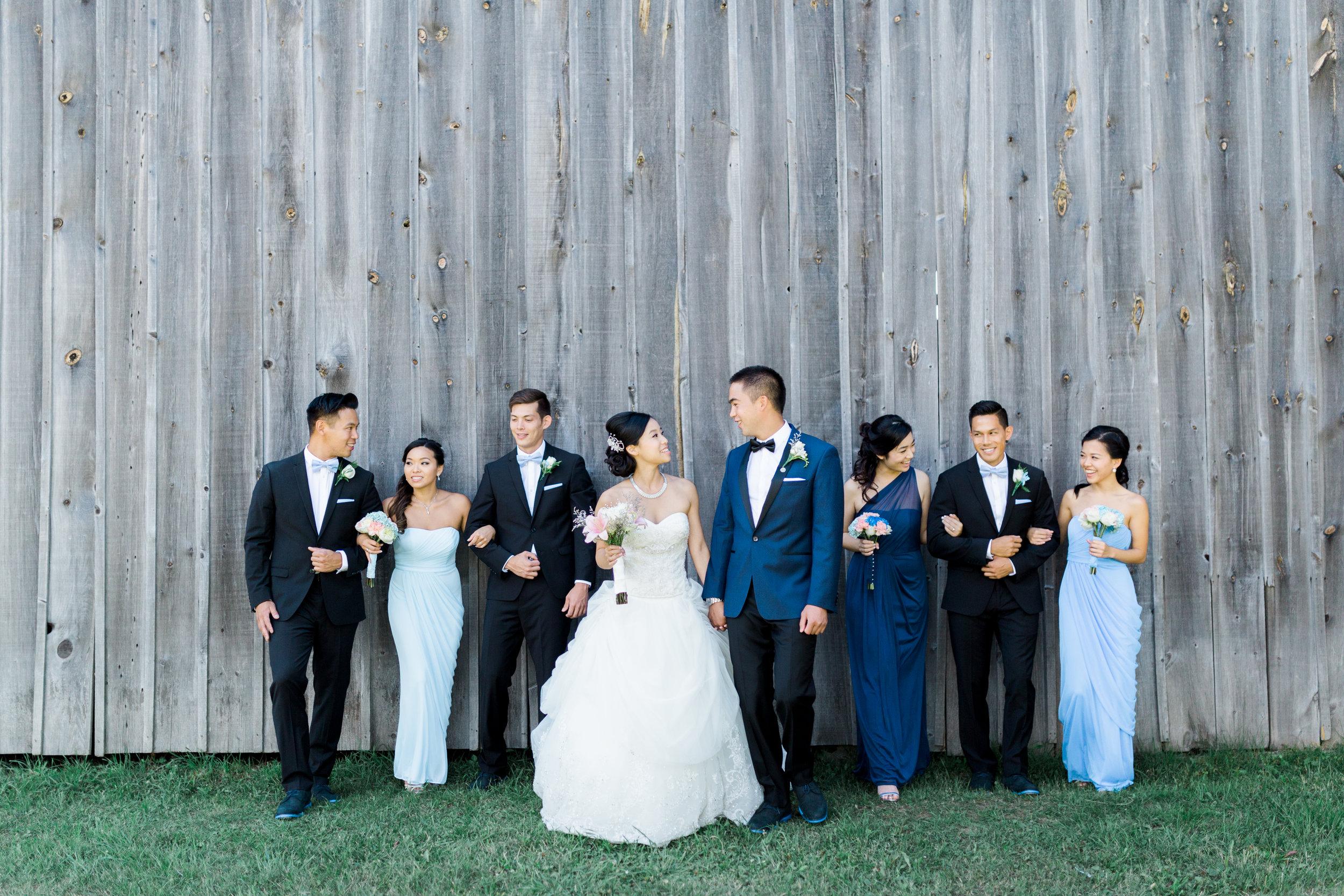 Toronto Fine Art Photographer - Markham Museum Wedding - Bridal Party Portraits-21.jpg