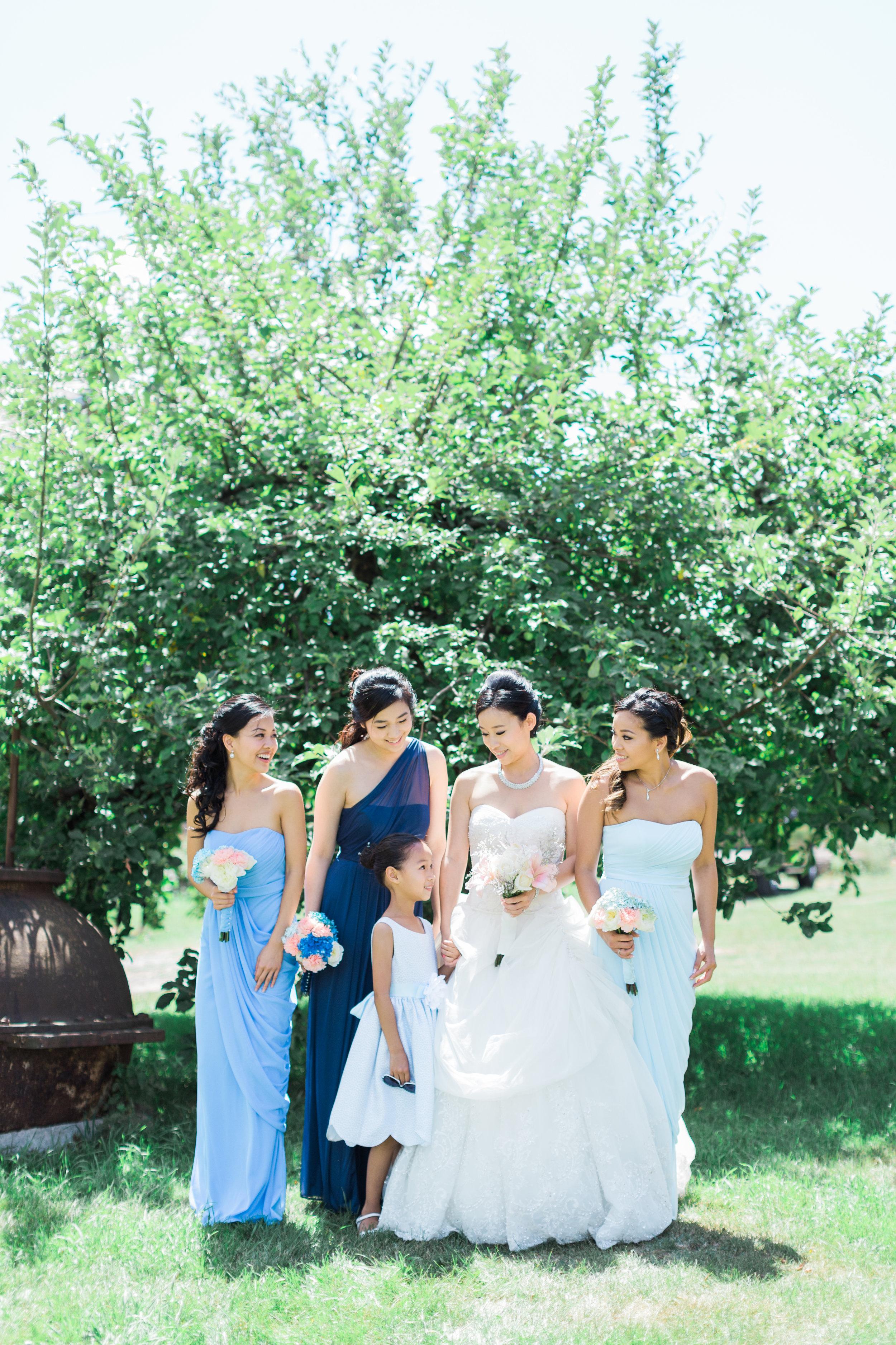 Toronto Fine Art Photographer - Markham Museum Wedding - Bridal Party Portraits-35.jpg