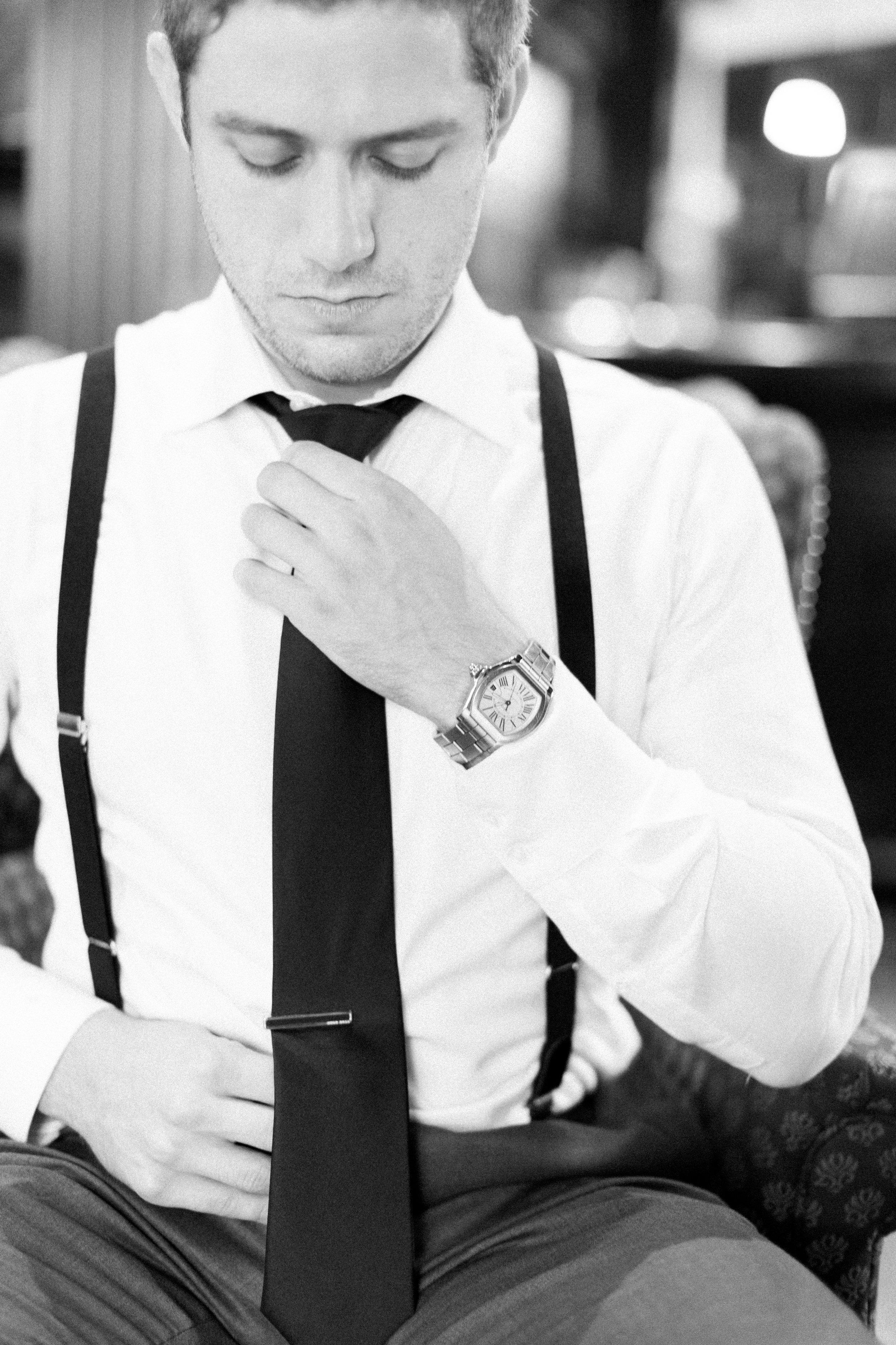 Toronto Fine Art Photographer - Old Mill Wedding - Groom Getting Ready-38.jpg