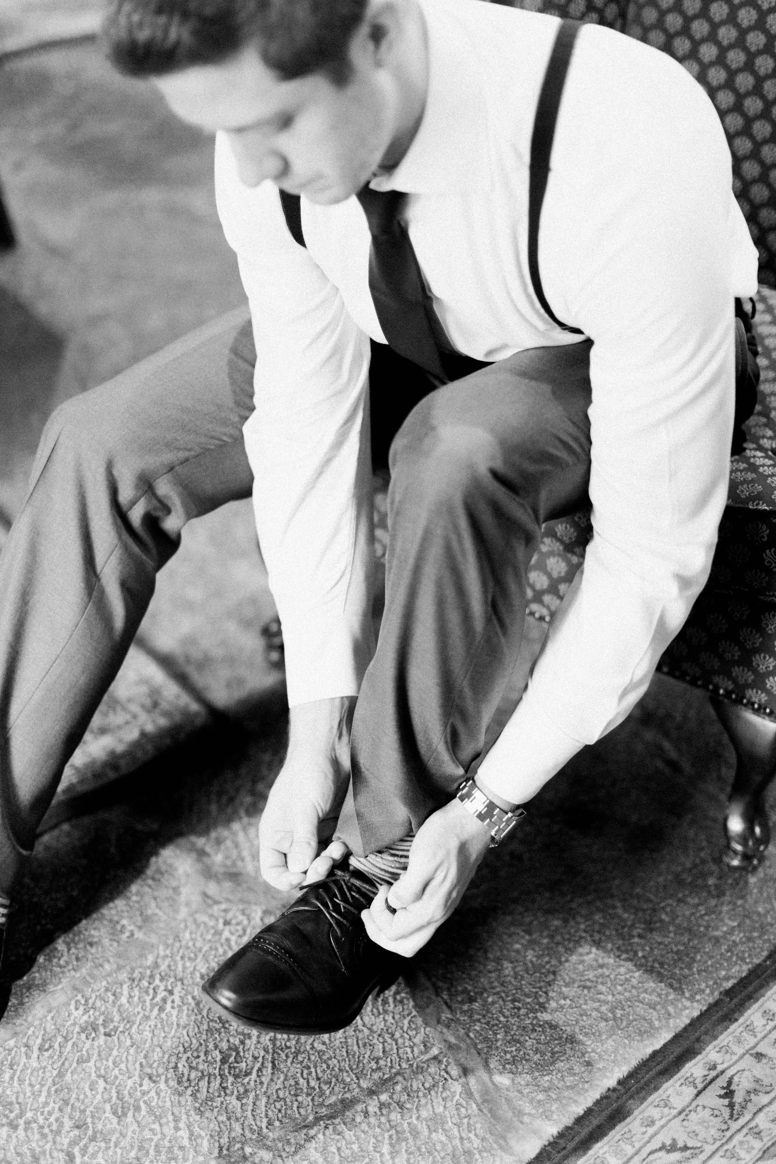 Toronto Fine Art Photographer - Old Mill Wedding - Groom Getting Ready-44.jpg