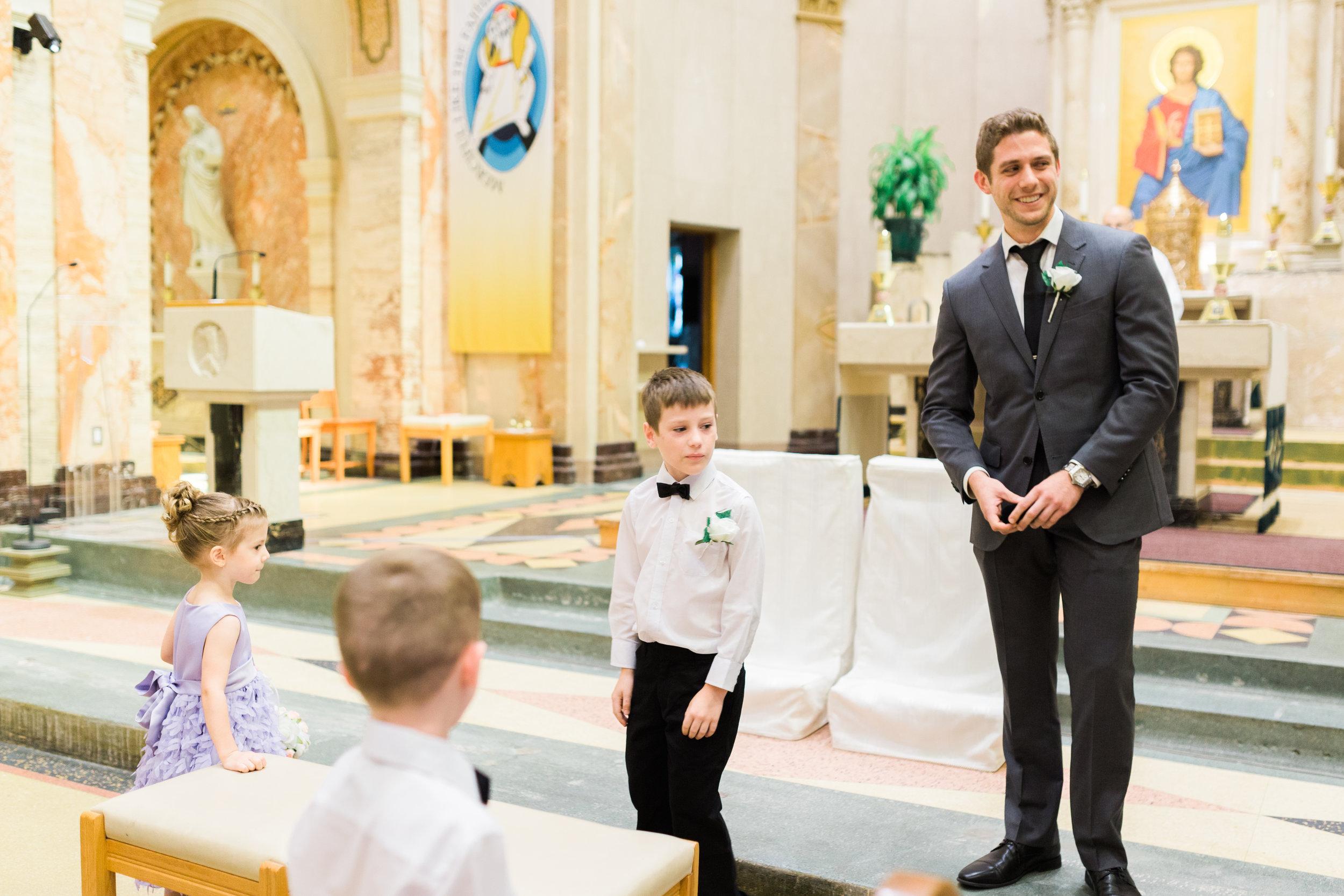 Toronto Fine Art Photographer - Lady of Sorrows Catholic Church Wedding - Ceremony-30.jpg