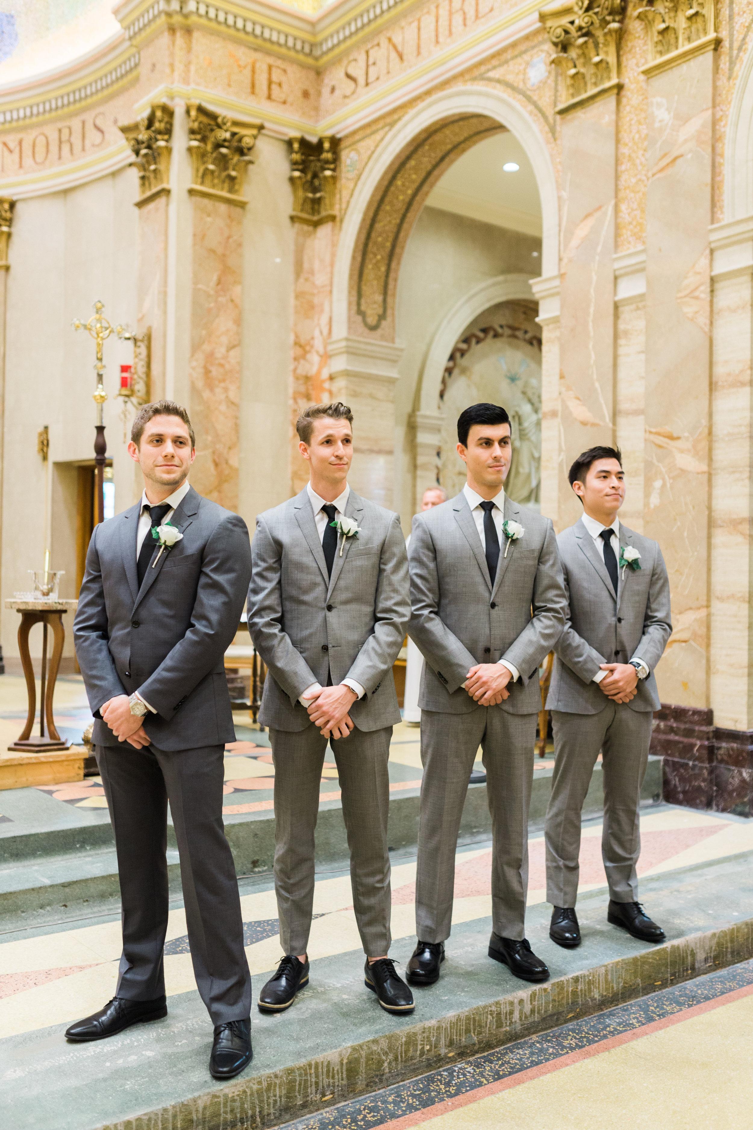 Toronto Fine Art Photographer - Lady of Sorrows Catholic Church Wedding - Ceremony-36.jpg