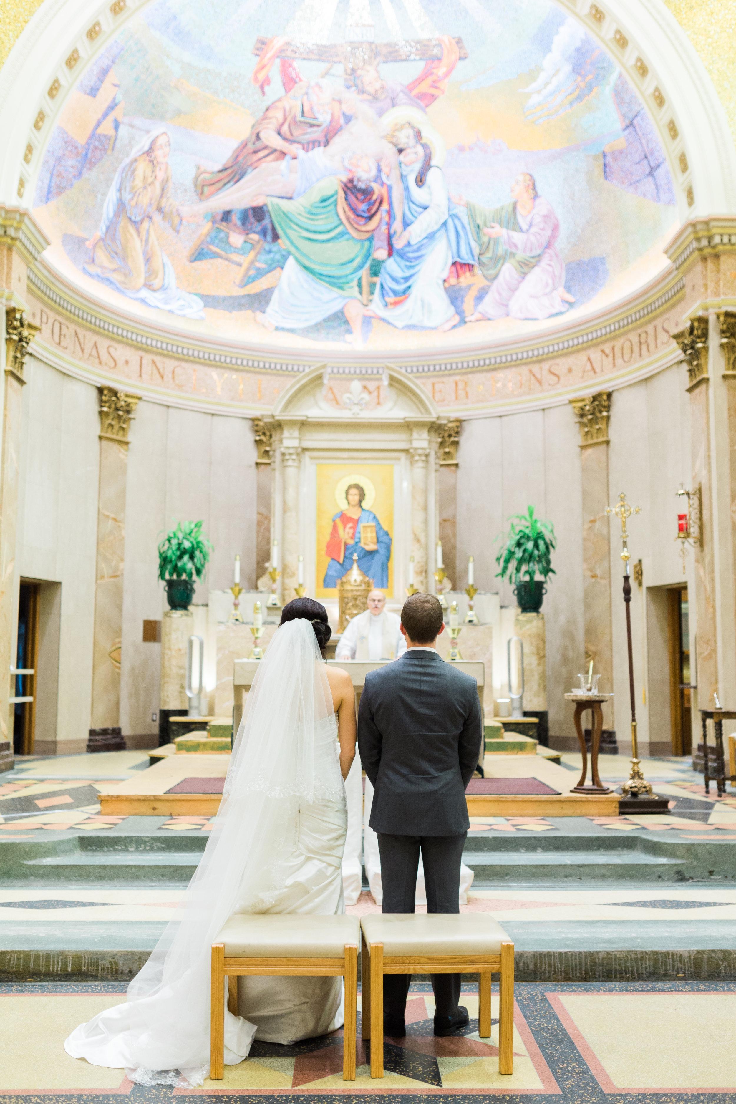 Toronto Fine Art Photographer - Lady of Sorrows Catholic Church Wedding - Ceremony-55.jpg