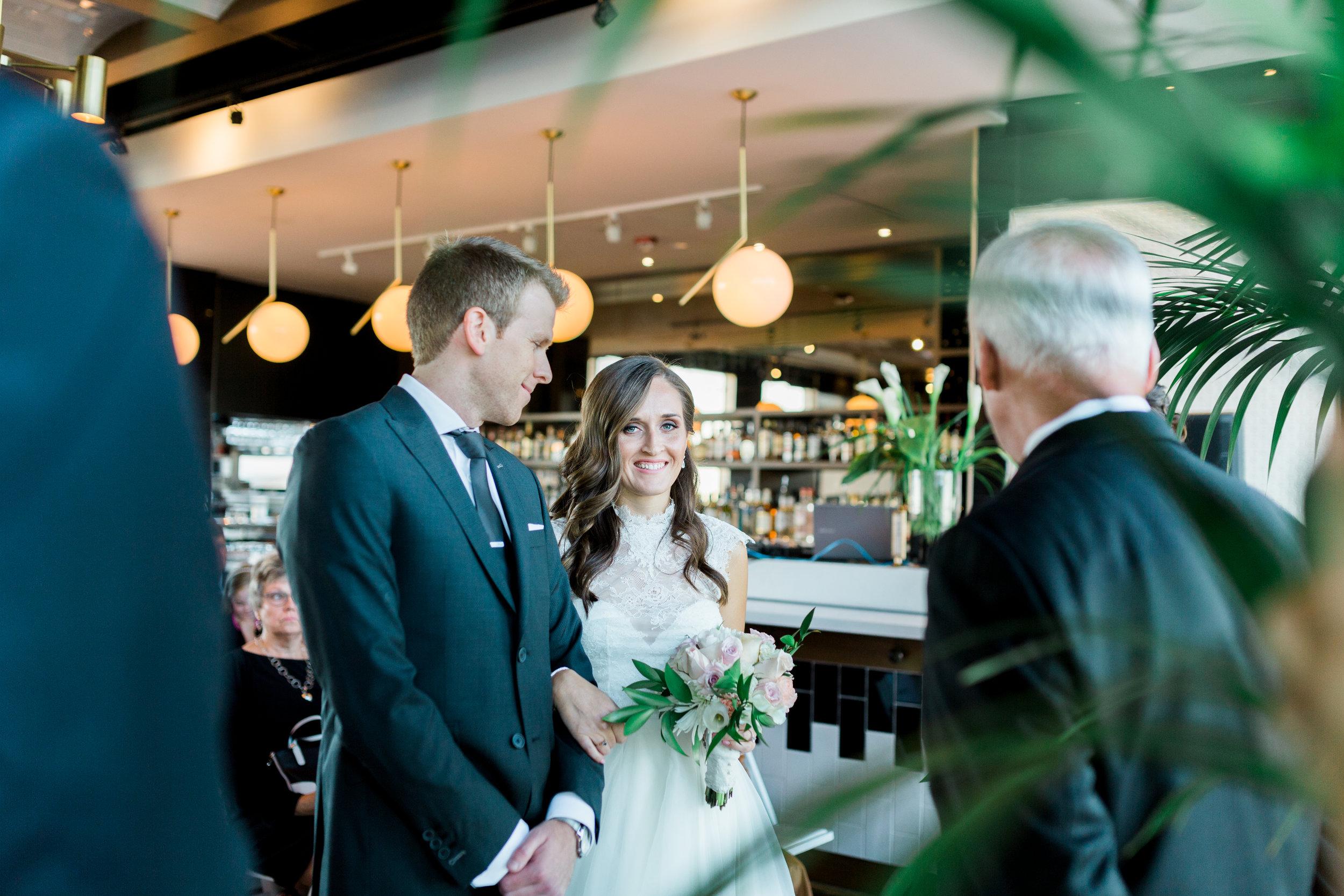 Toronto Fine Art Photographer - 180 Restaurant Wedding - Ceremony-76.jpg