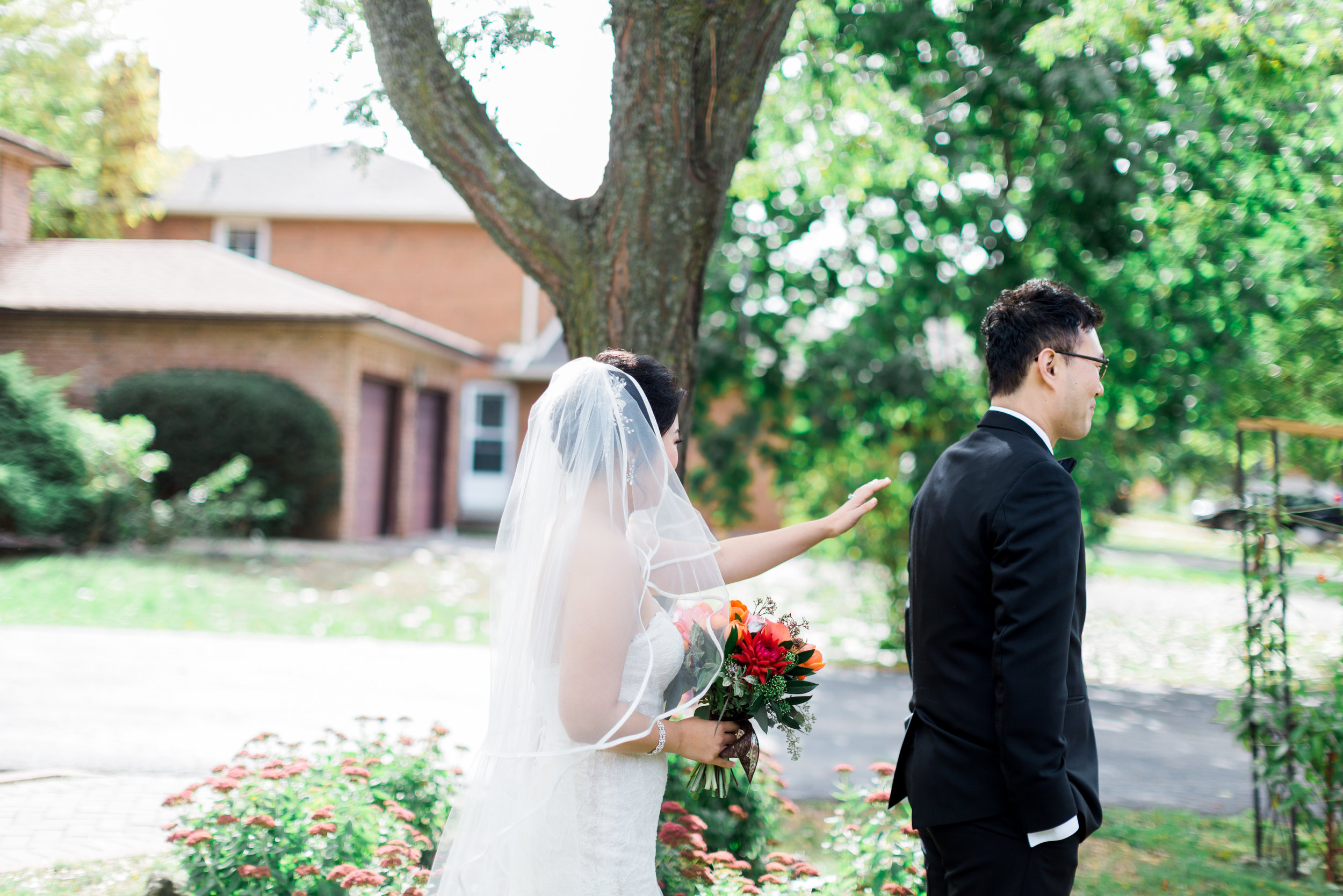 Toronto Fine Art Photographer - Toronto Hunt Club Wedding - First Look-9.jpg