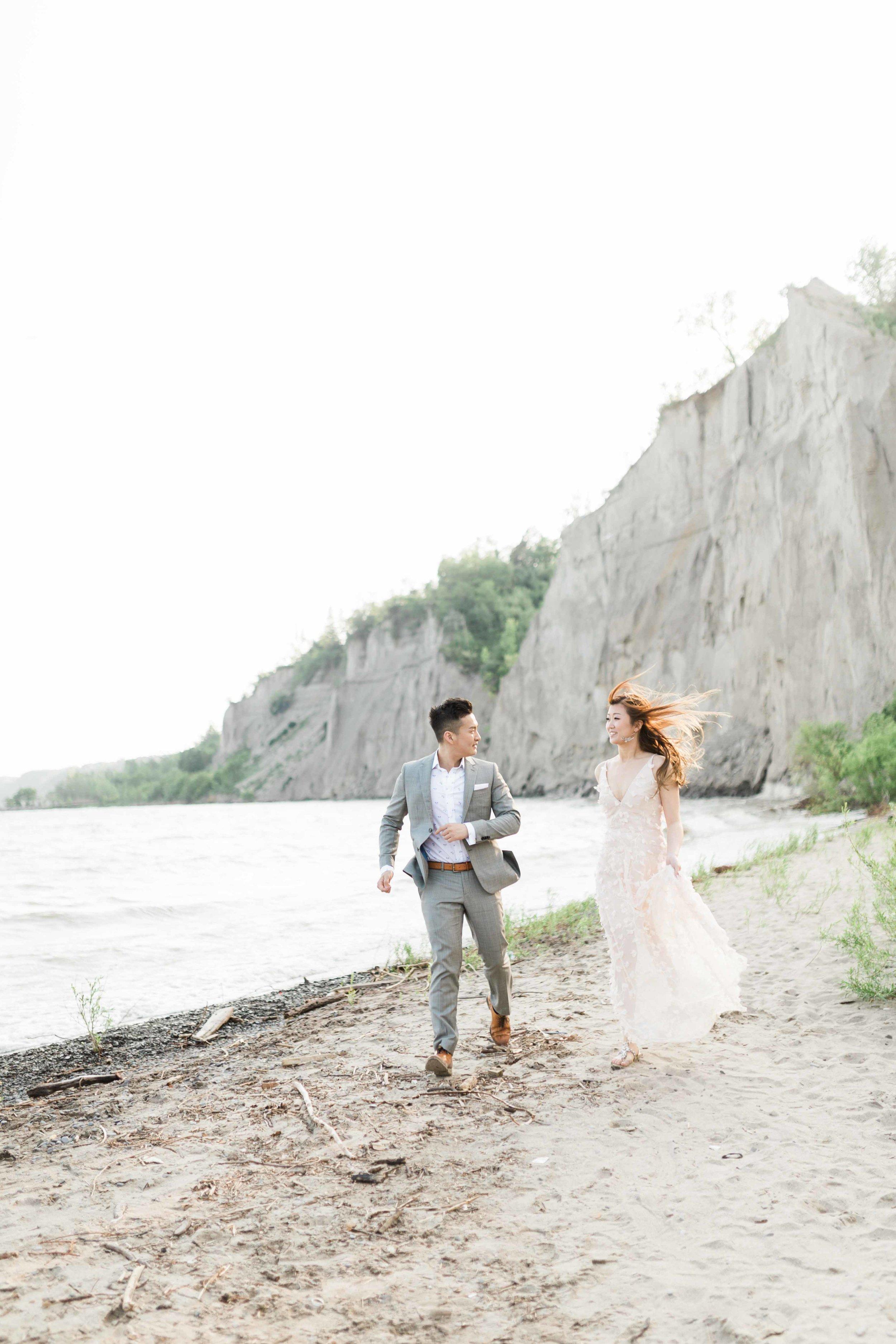 Cari Zhu Fine Art Photographer - Scarborough Bluffs Engagement Session-16.jpg