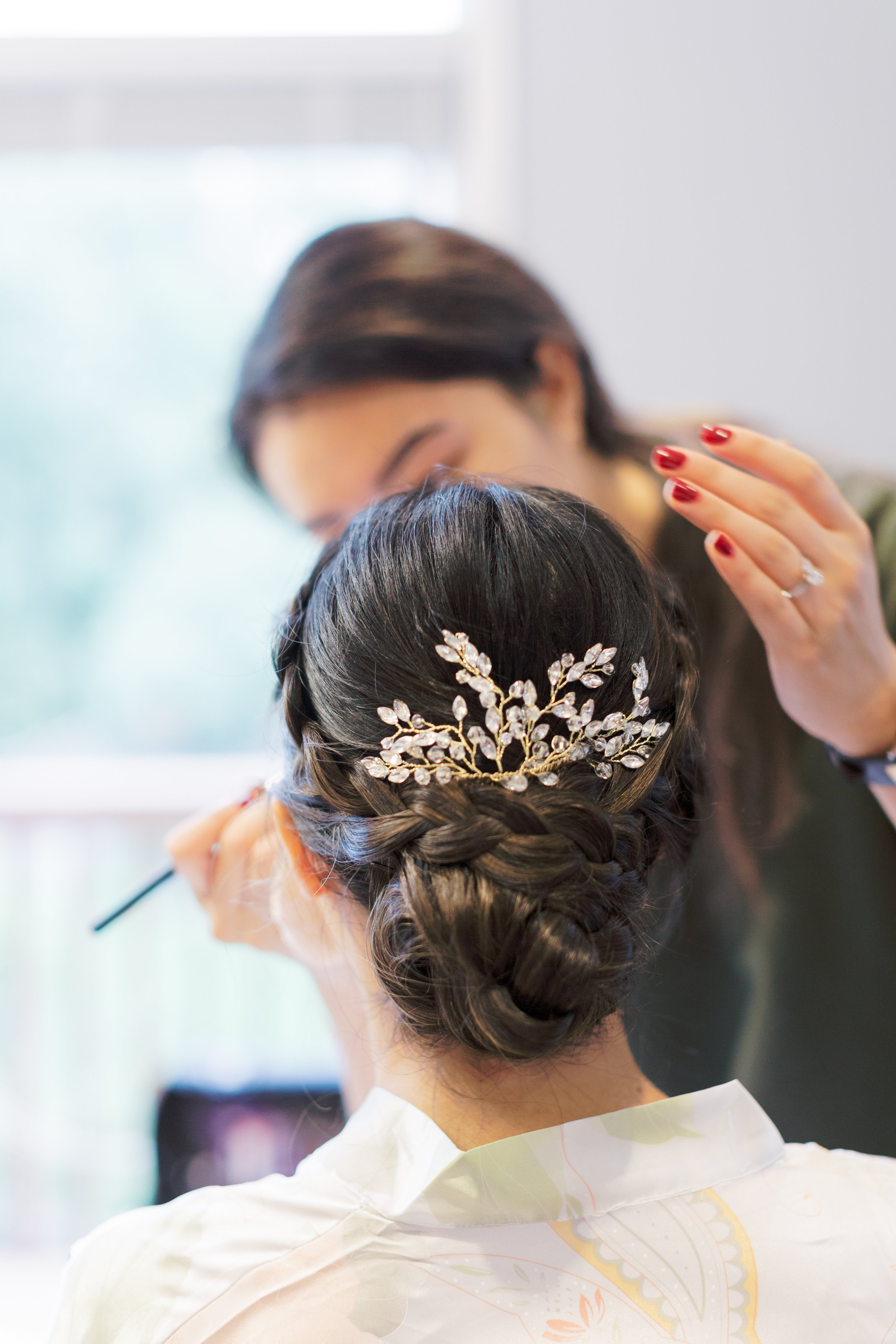 Paradise Banquet Hall Wedding - Bride Getting Ready-12.jpg