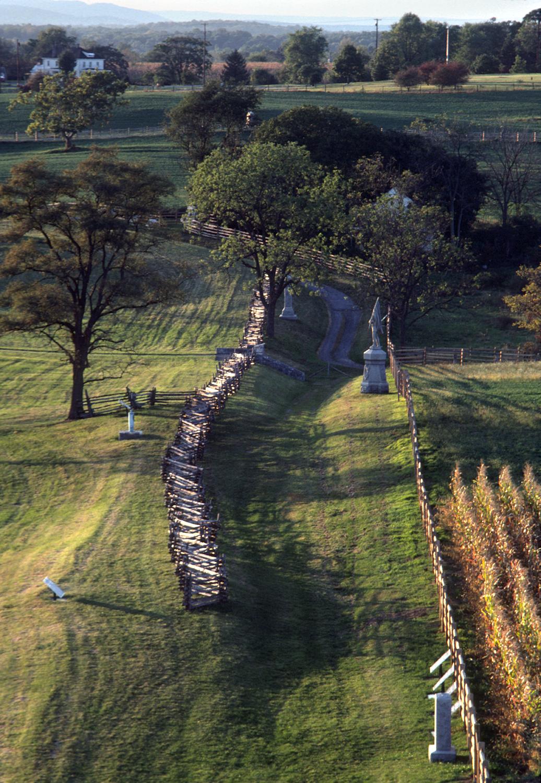 Bloody Lane Antietam National Battlefield