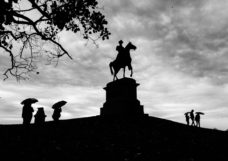 Gen. Hancock monument Gettysburg National Battlefield