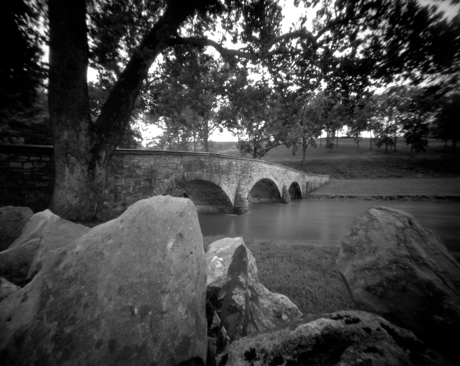 Burnside Bridge Antietam National Battlefield Pinhole camera