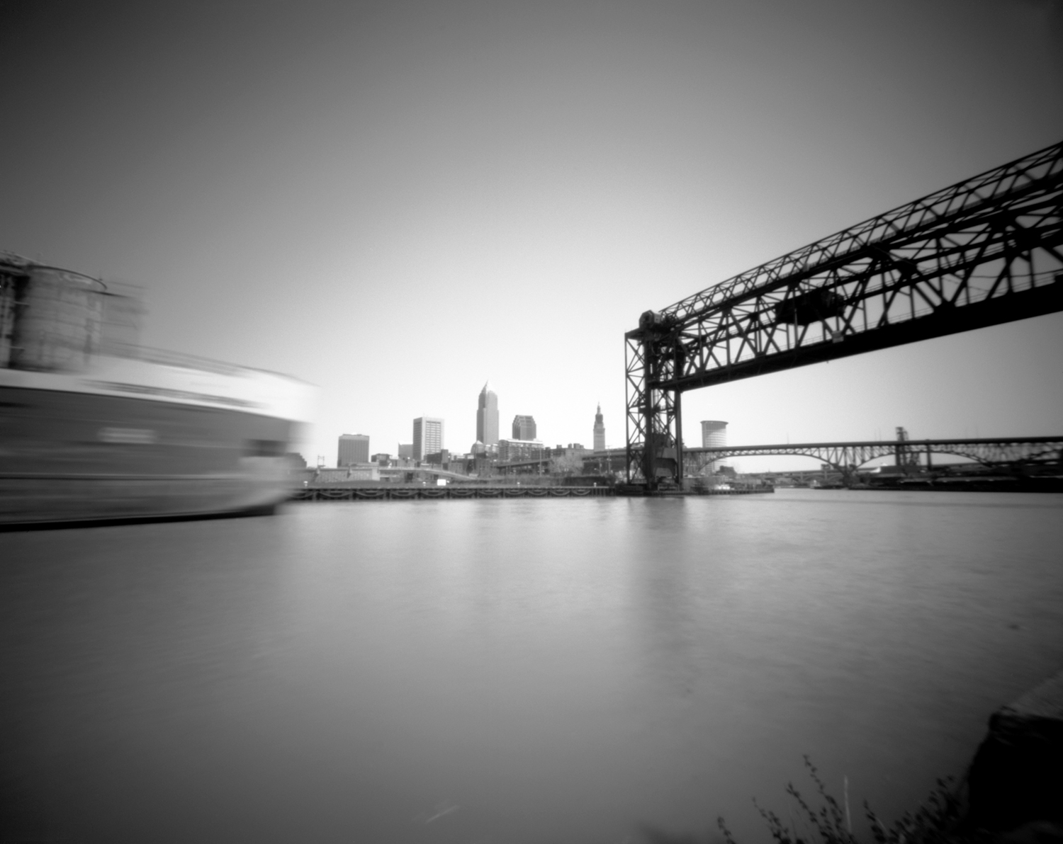 The Robert S. Pierson heads up the Cuyahoga