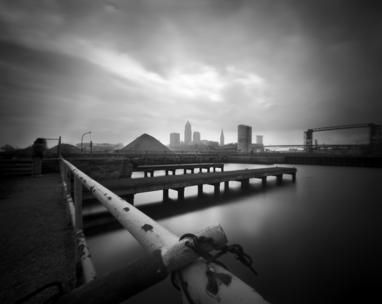 Cleveland Skyline from Whiskey Island