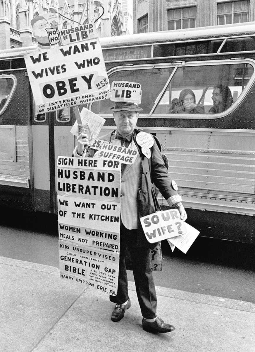 Husband Lib New York City 1973