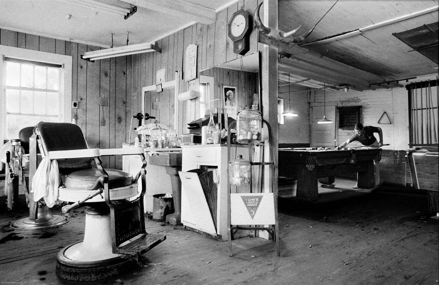 Sonny's Pool Room and Barber Shop Noxapater, MS 1978