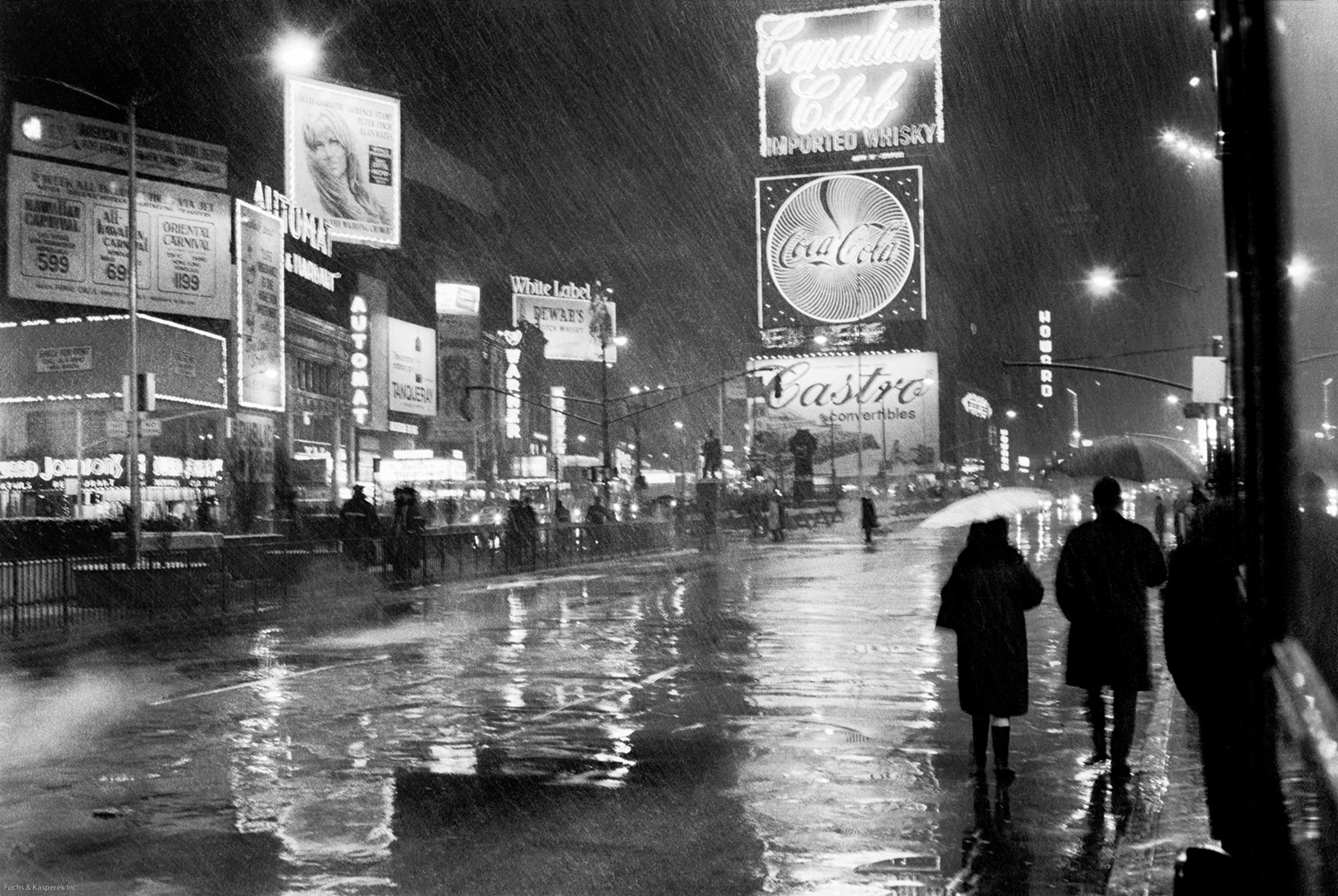 Times Square, NYC New Years Eve 1967