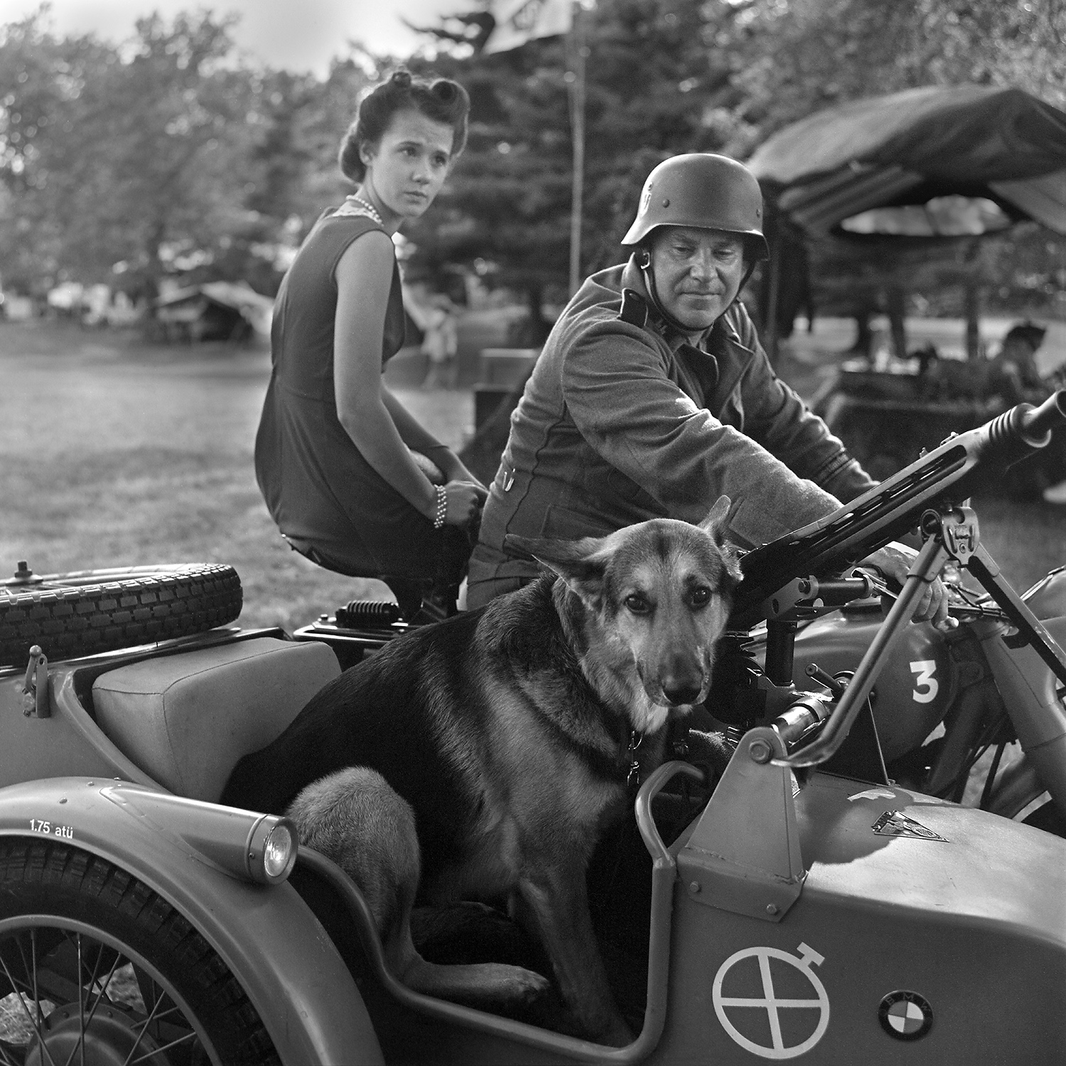 Gunther goes for a ride Conneaut, OH 6x6 Film