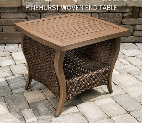 Pinehurst 24 X 26 Alum Slat End Table.jpg