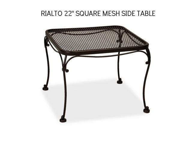 Woodard Rialto 22 SQ Mesh Side Table.jpg