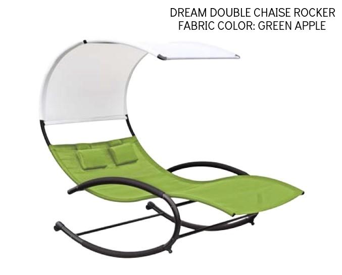 Double chaise Rocker-Green Apple.jpg