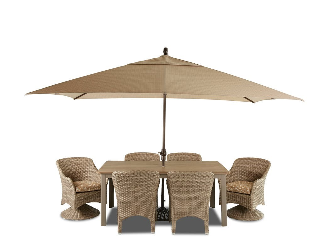 DelRay Woven Dining Set