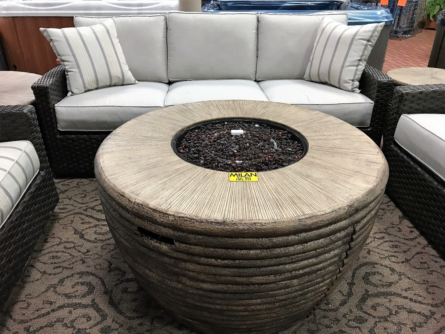 Biscayne Woven Deep Seating Group
