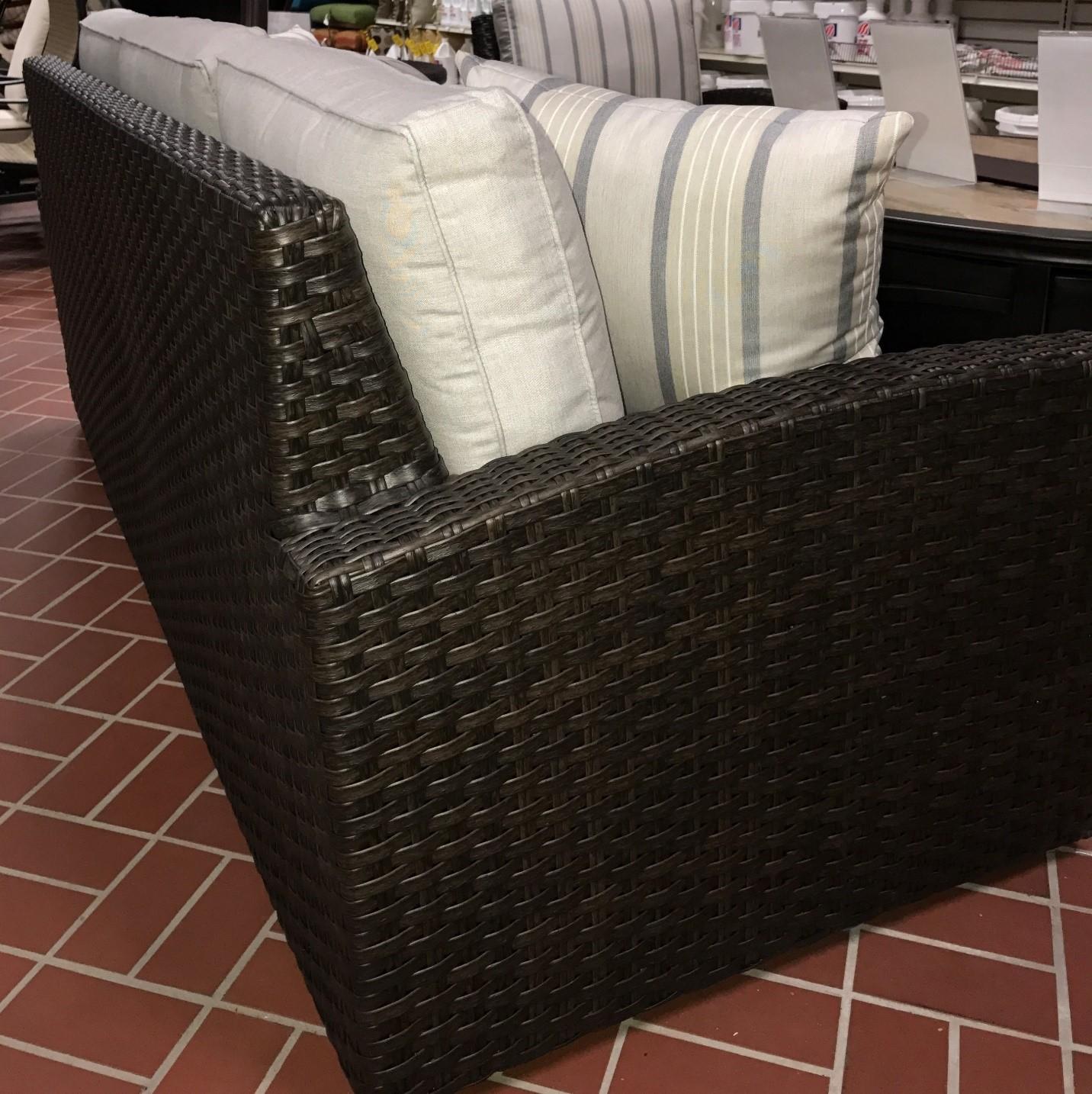 Biscayne Woven Sofa