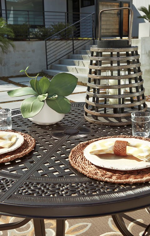 Burnella Cast Dining Set