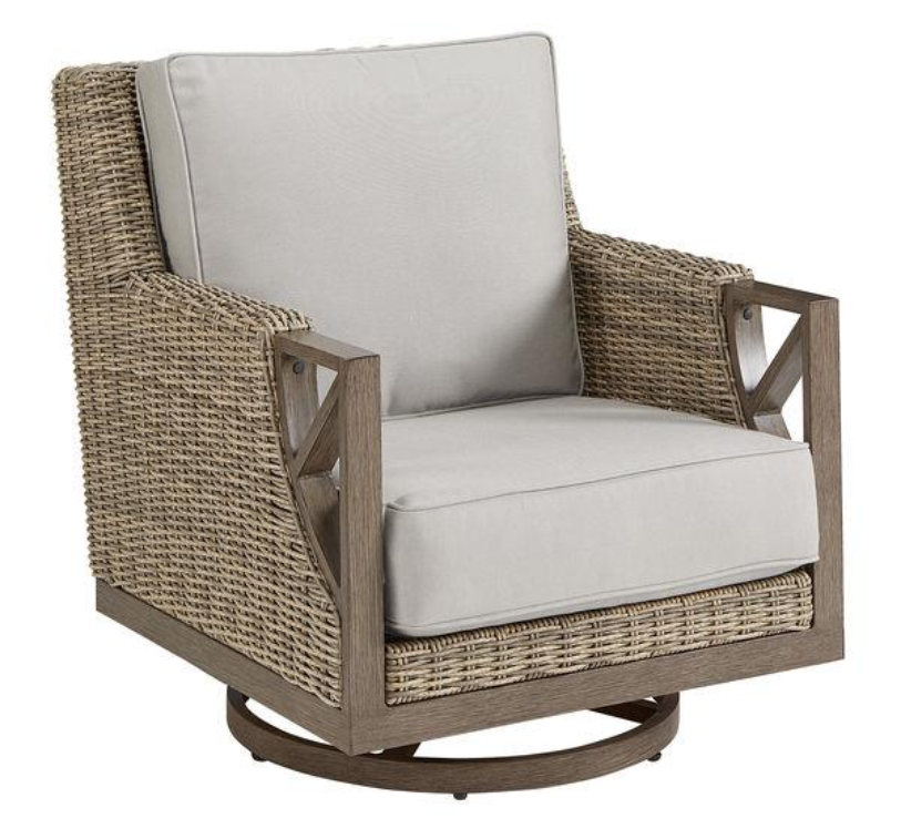 SUMMER CREEK SWIVEL ROCKER CLUB CHAIR