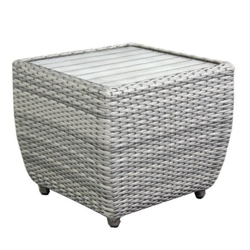 Brunswick End Table with Slat Top