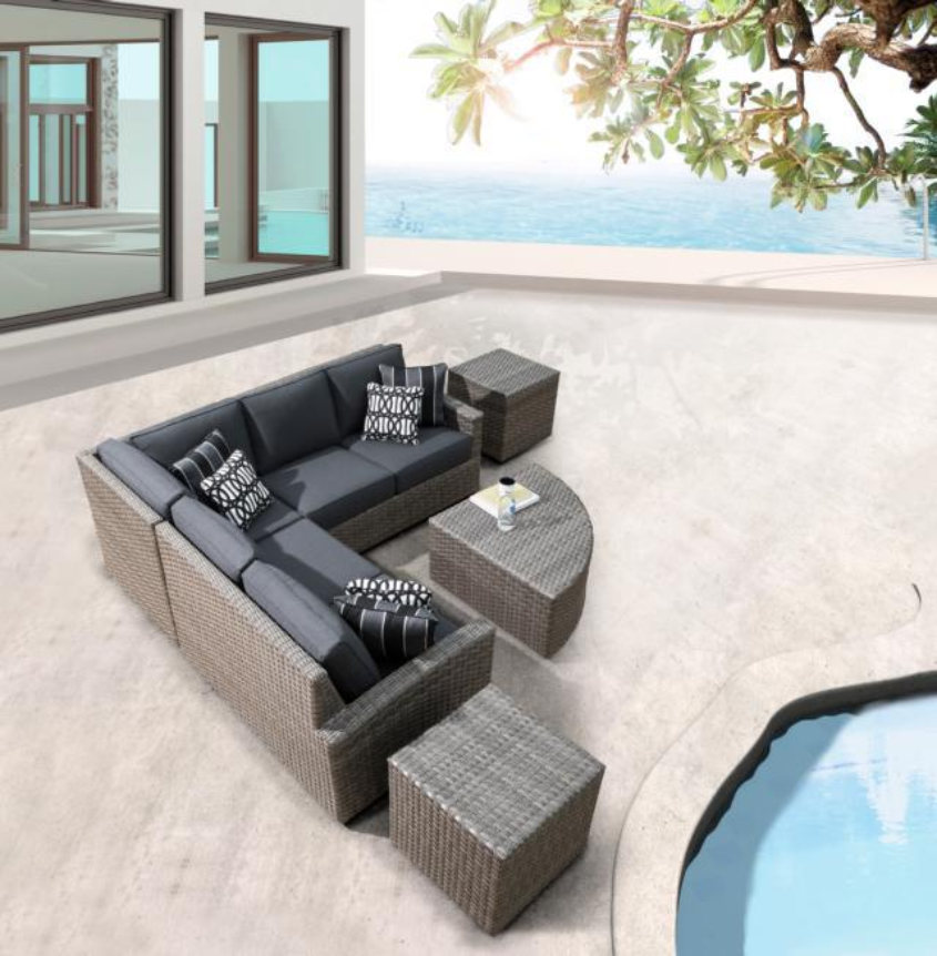 BISCAYNE II WOVEN SECTIONAL
