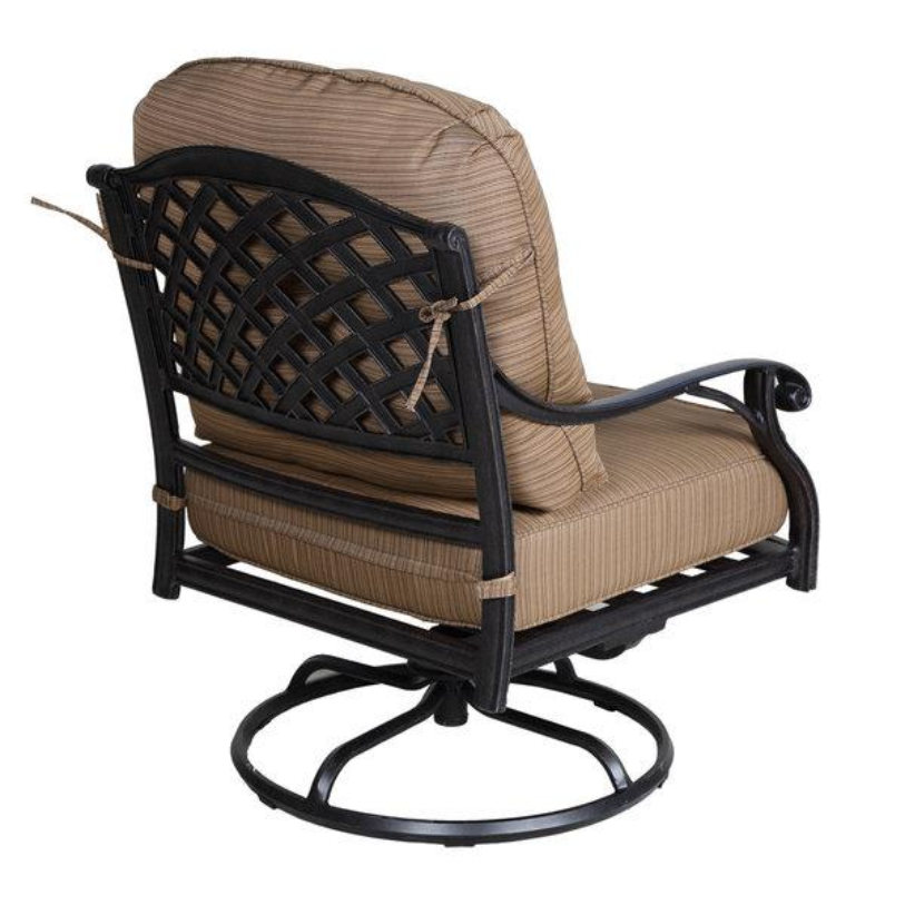 CASTLE ROCK SWIVEL ROCKER, BACK