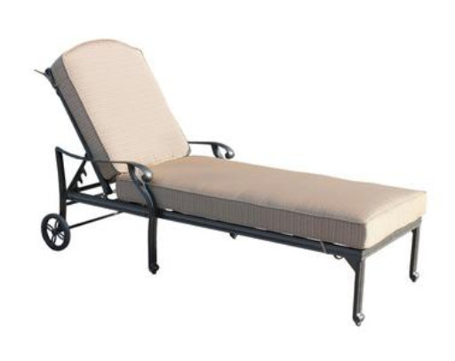 CASTLE ROCK  CAST CHAISE LOUNGE