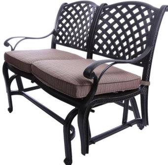 CASTLE ROCK  CAST BENCH GLIDER