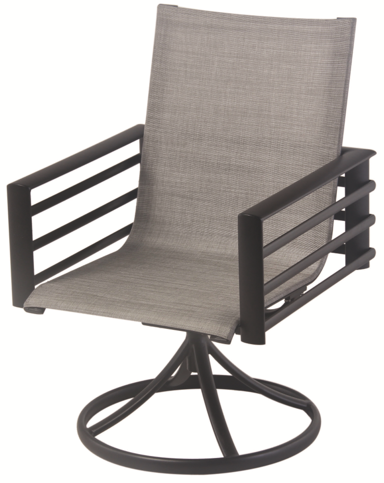 Fleetwood Swivel Sling Dining Chair