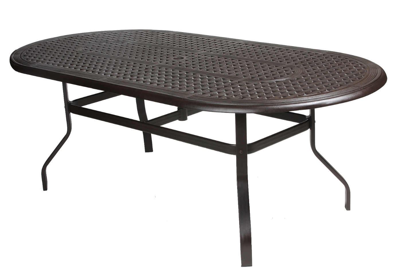 "Somerset 42"" x 48"" Oval Dining Table"