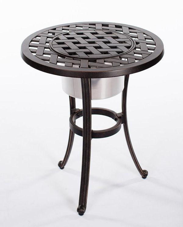 "Castle Rock Ice Bucket Table 21"" Round"