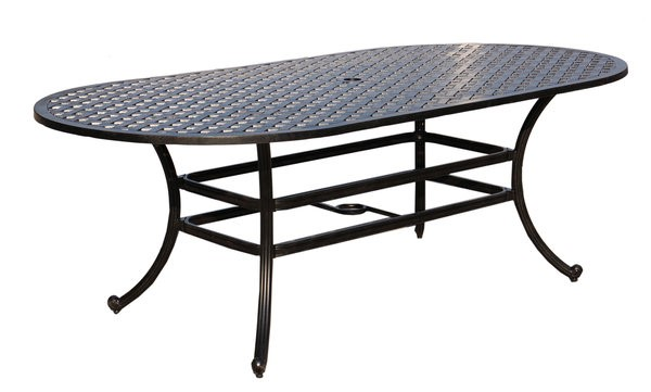 Castle Rock Cast Dining Table Oval