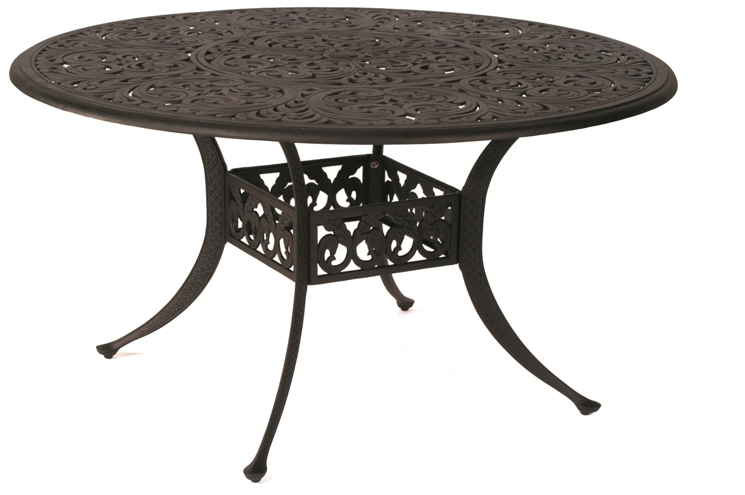 "St. Augustine Cast Dining Table 54"" Round"
