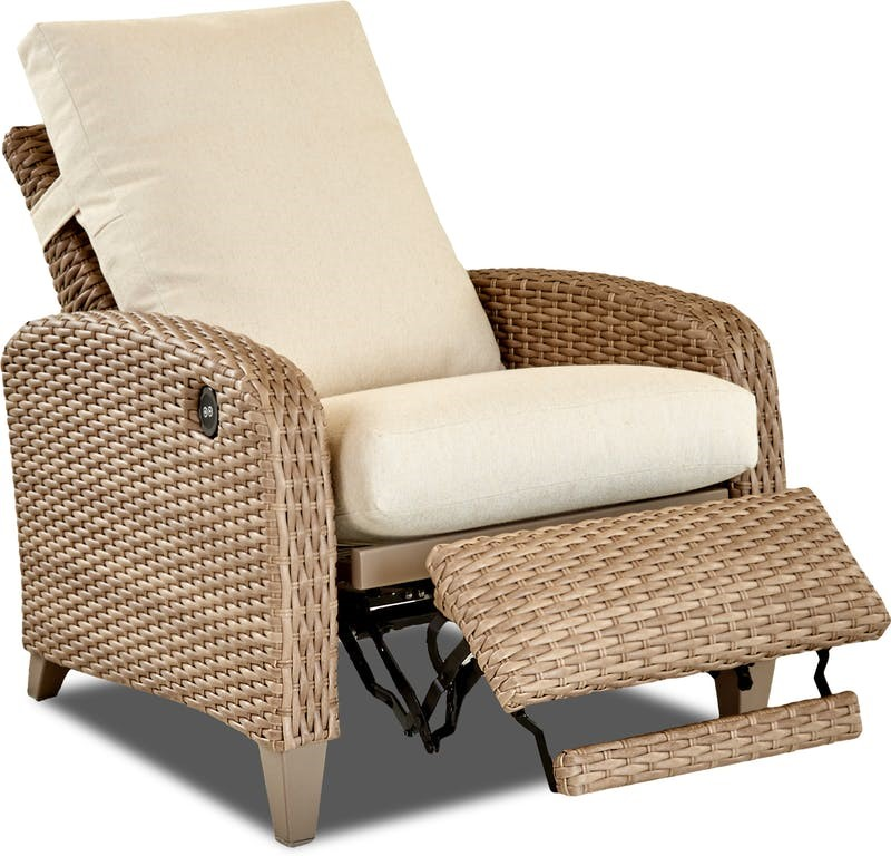 Tidepointe Woven Power Recliner