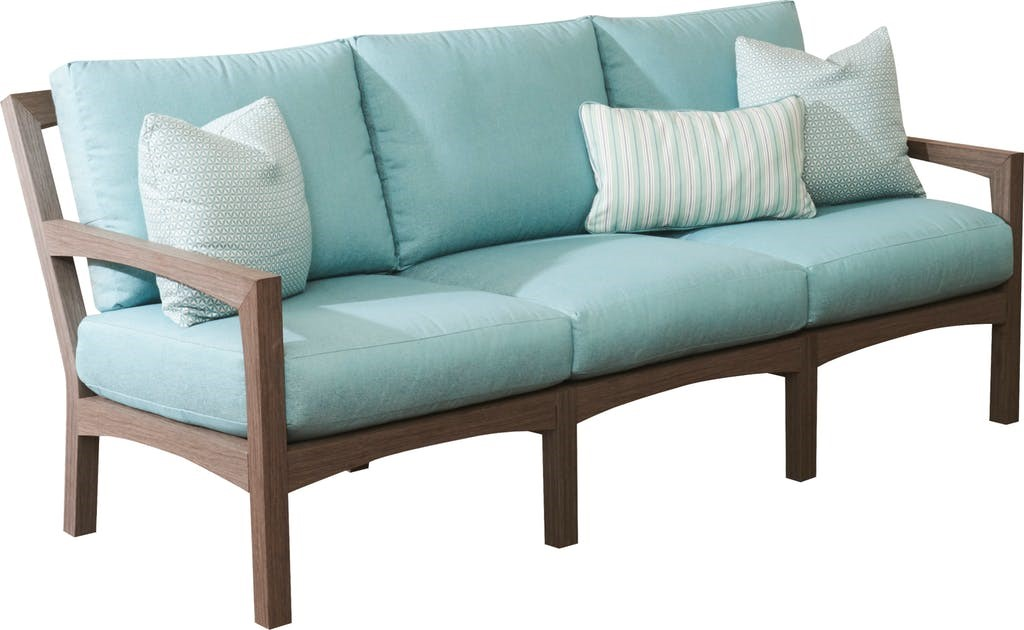 Delray Synthetic Teak Sofa