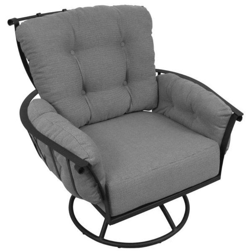 VININGS SWIVEL ROCKER CHAIR