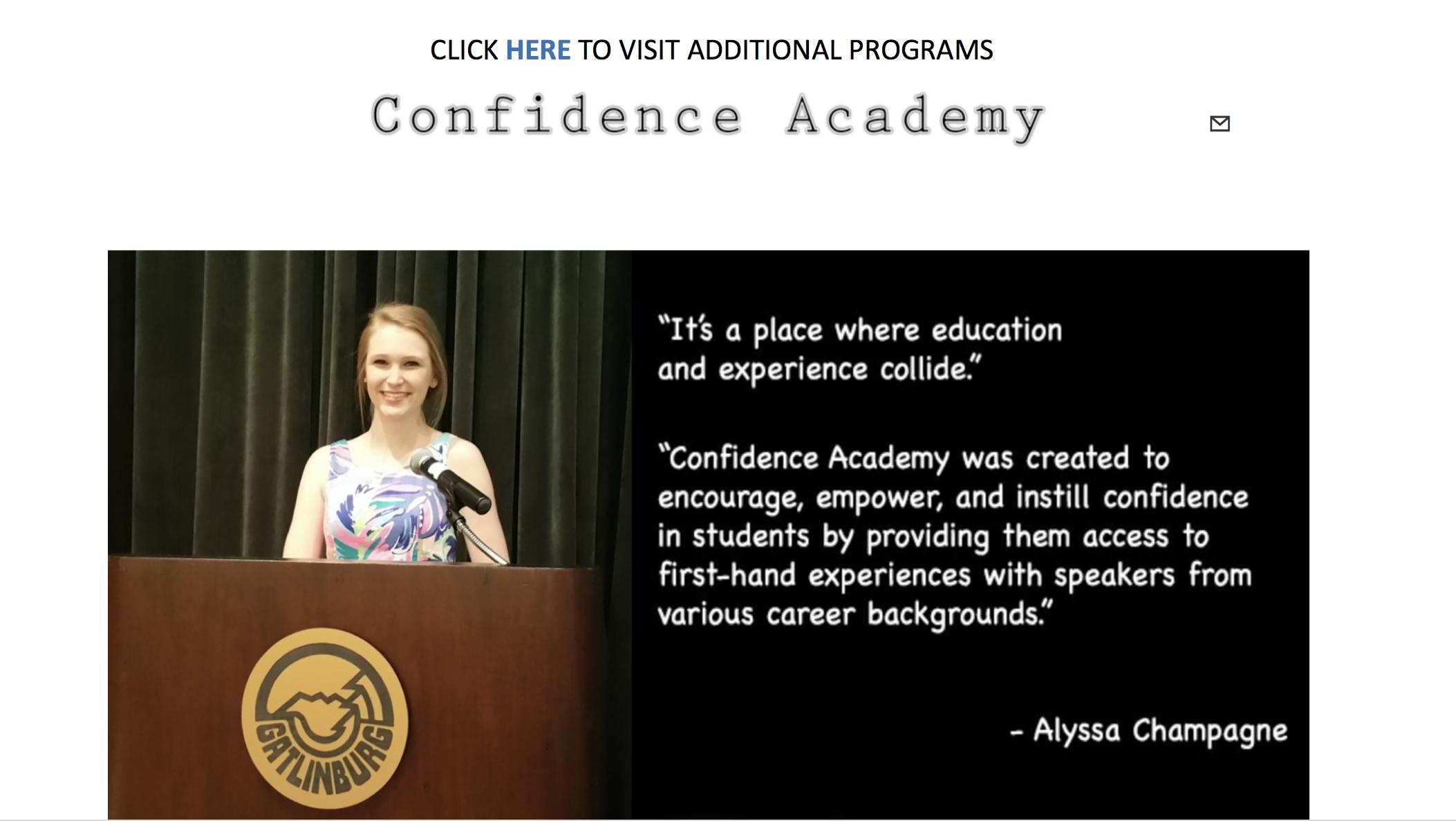 Alyssa Champagne Gatlinburg TN Confidence Academy confidenceacademy Gatlinburg-Pittman Sevierville TN.jpg