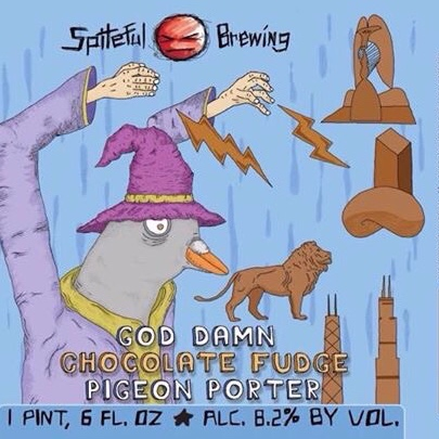 SPITEFUL - GOD DAMN CHOC. FUDGE