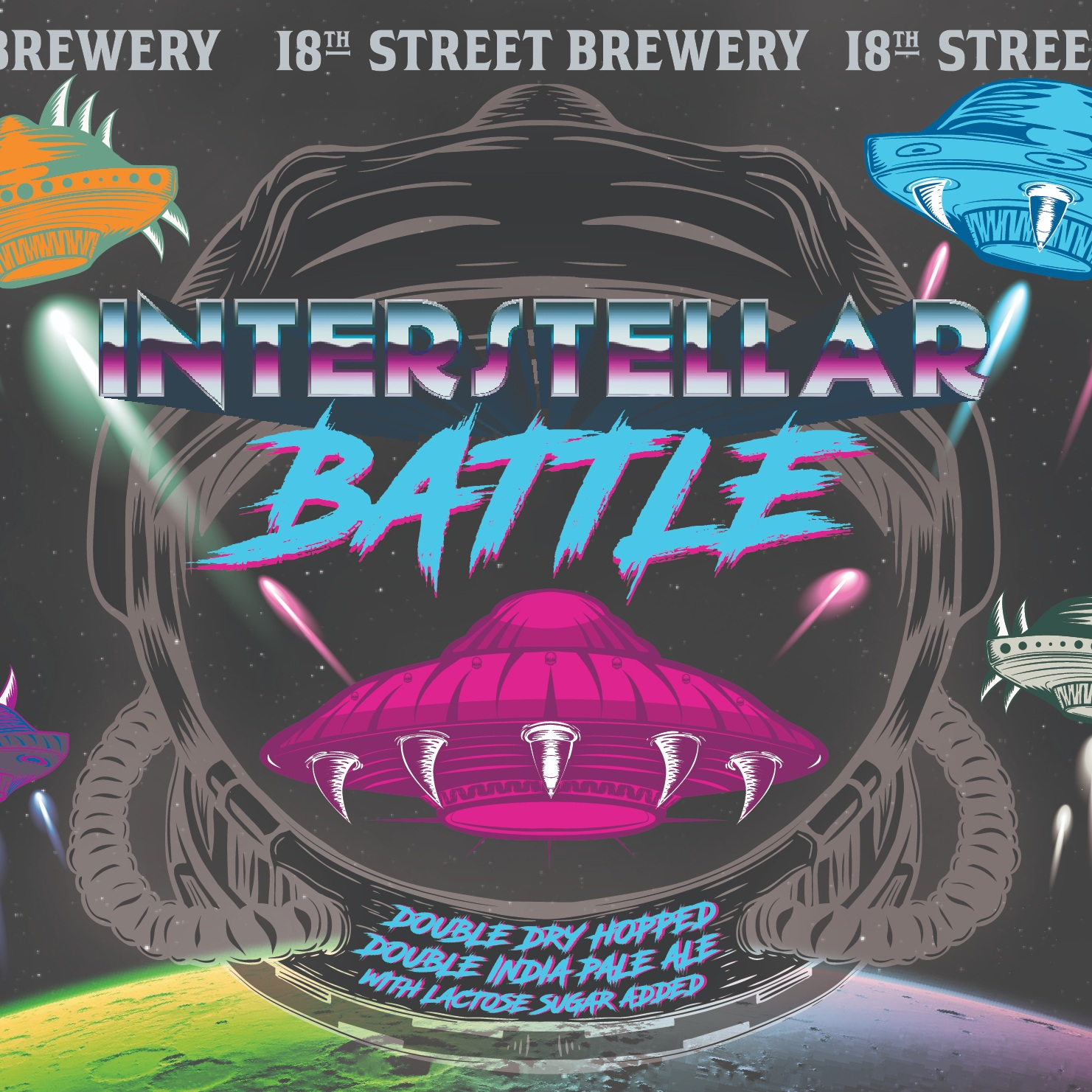 june 26th - 18TH STREET BREWERYInterstellar Battle