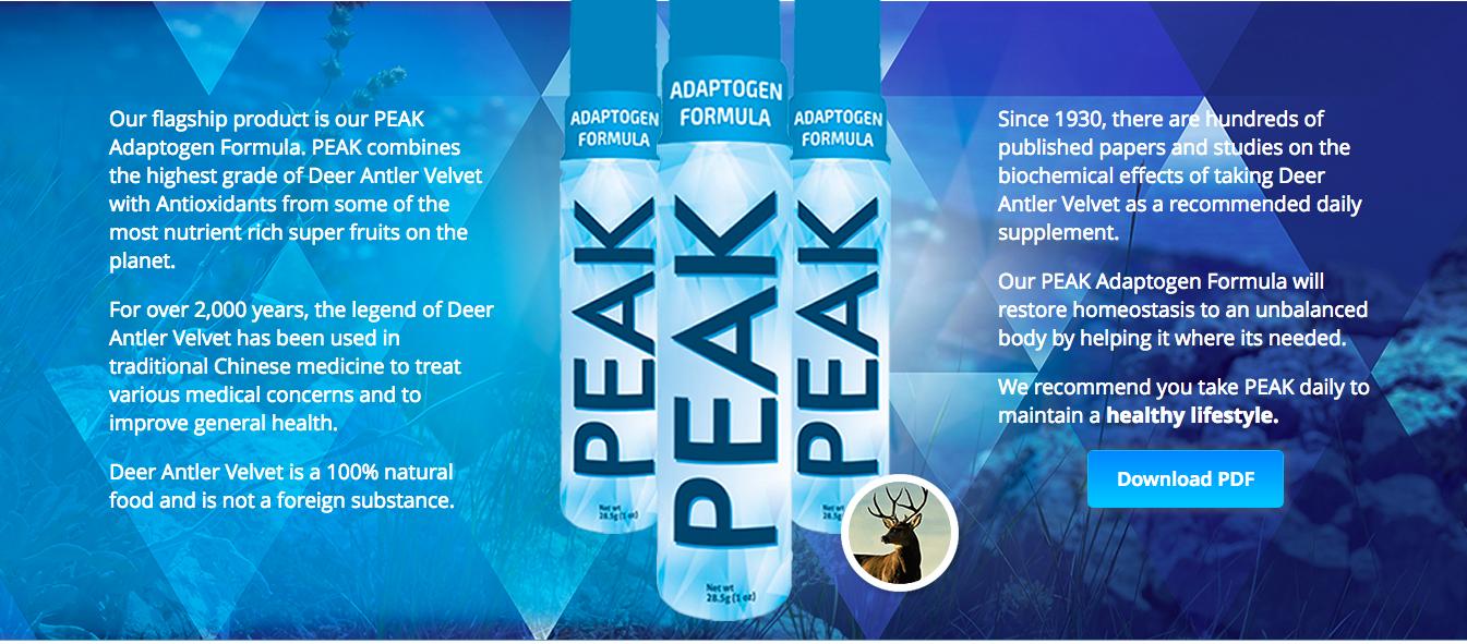 Click here to order the highest quality dear antler velvet spray on the market