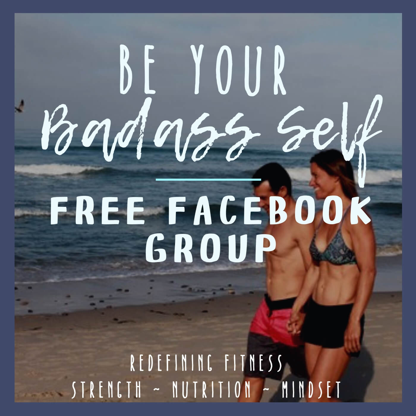 Join our free Facebook group for tips on strength training, nutrition, and creating a motivated mindset.
