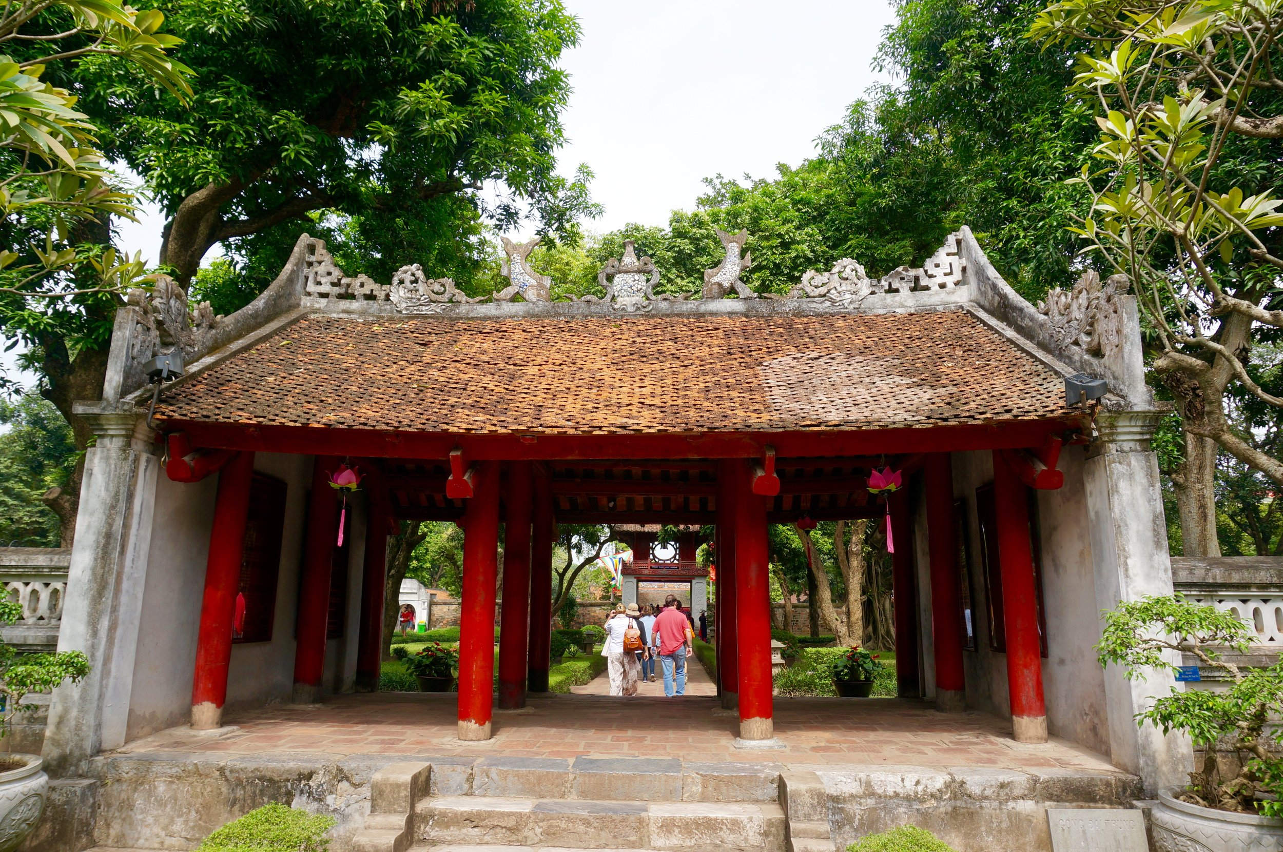 TEMPLE OF LITERATURE, VIETNAM | PRAVASSA©