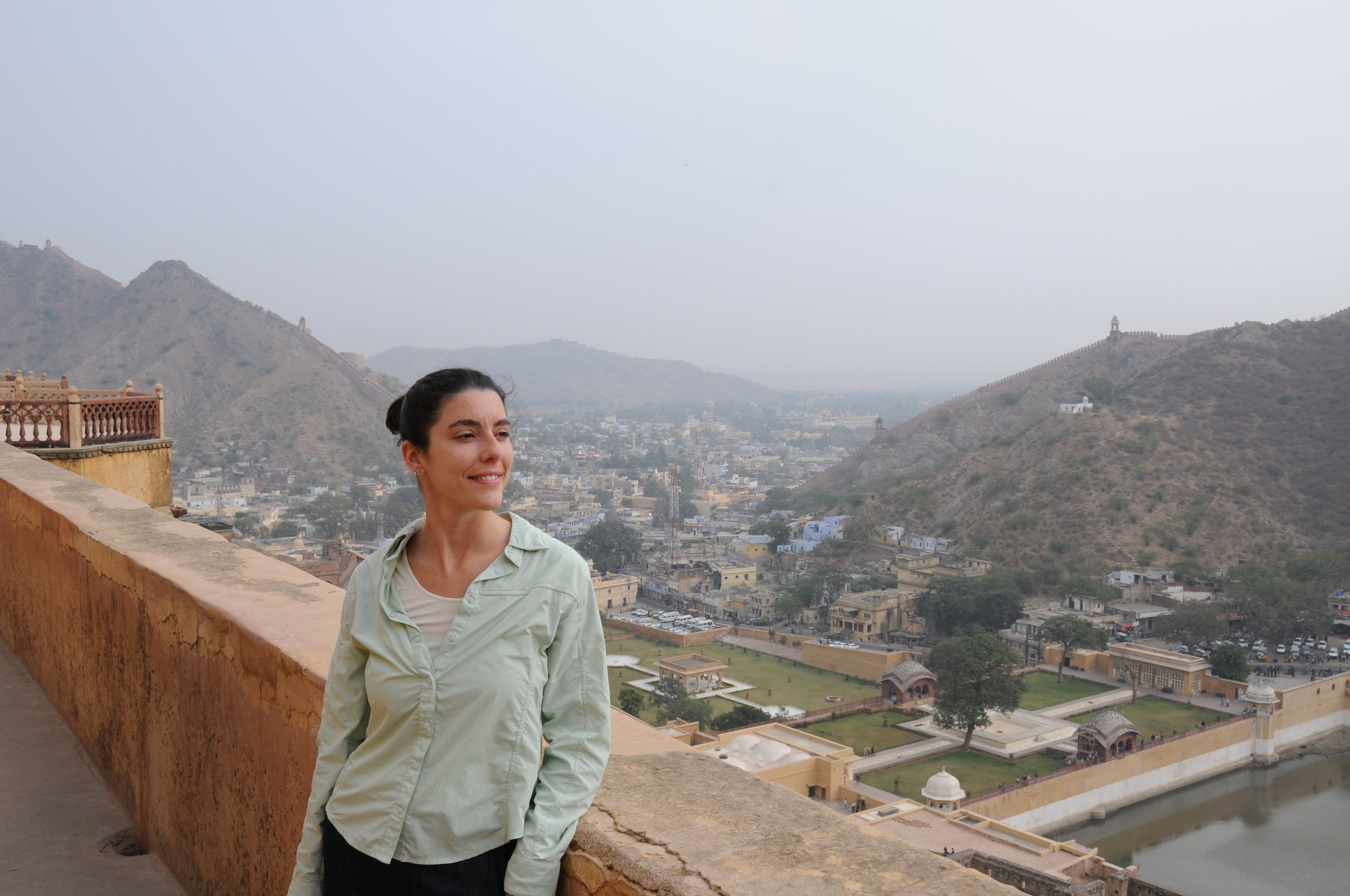 Photo: Katie Jehenson in India